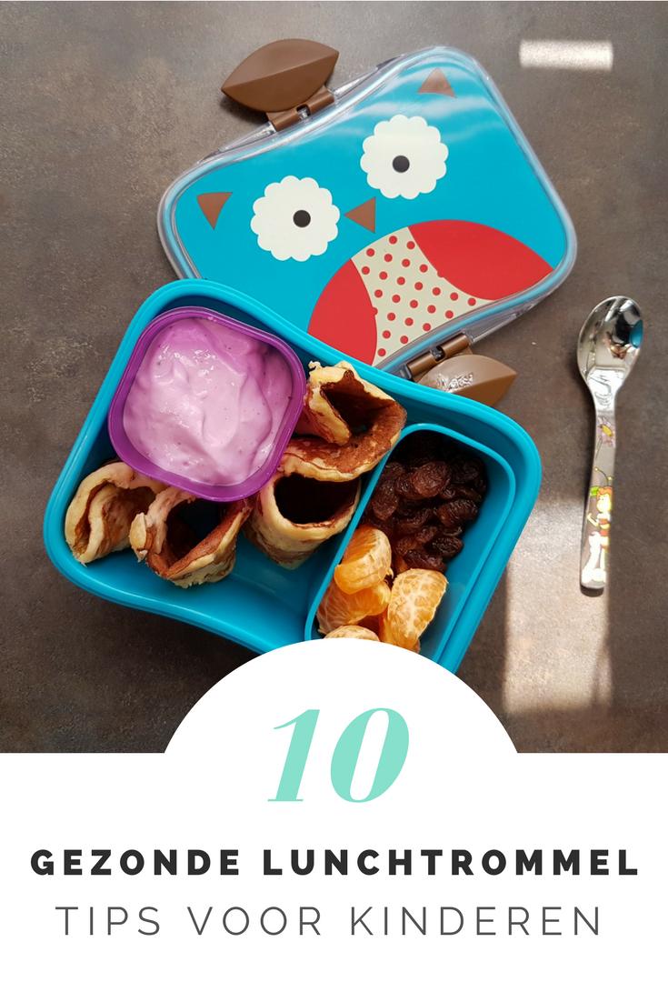 Ben jij ook een beetje uitgekeken op die bruine boterham met pindakaas? Ik wel! Ik geef haar graag een gezonde en gevarieerde lunch mee. Vandaag geef ik tips in: 10x gezonde lunchtrommel voor kids.
