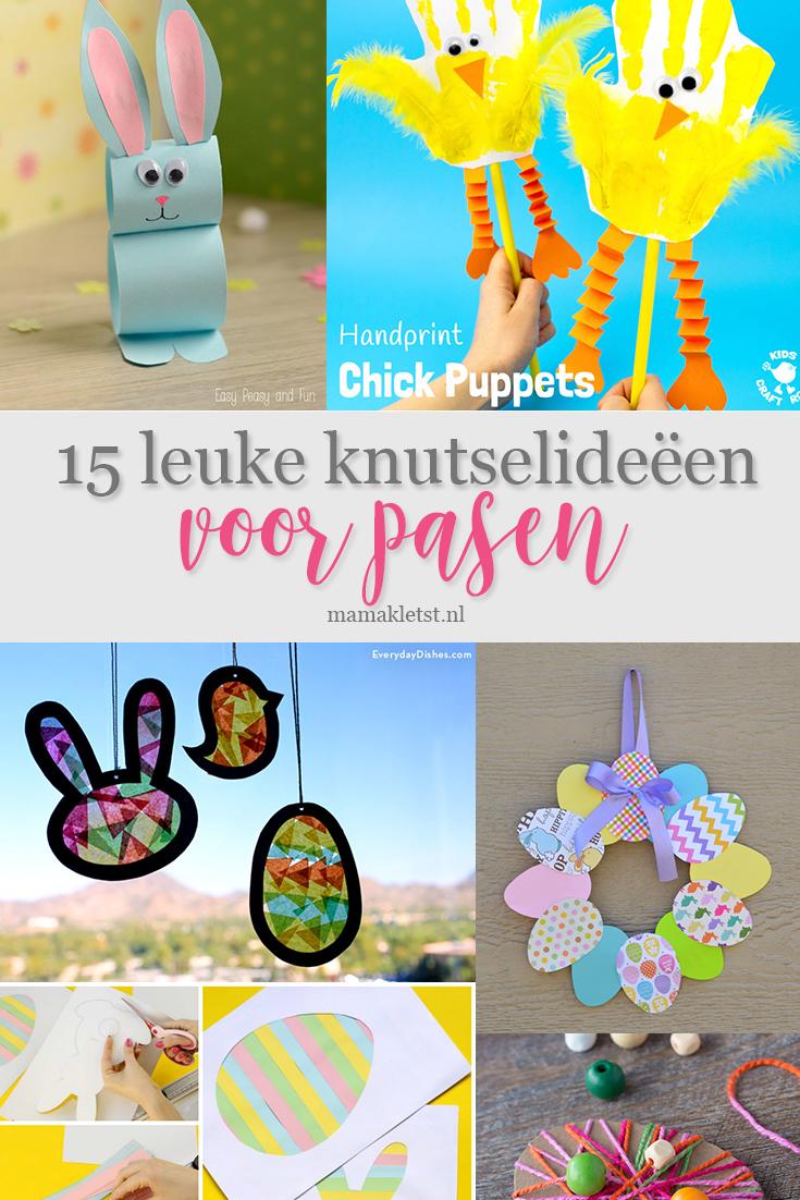 Ongekend Knutselen voor Pasen met peuters en kleuters - MamaKletst.nl ZZ-28