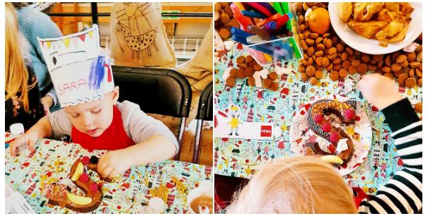 HEMA Sinterklaas chocoladeletter versieren
