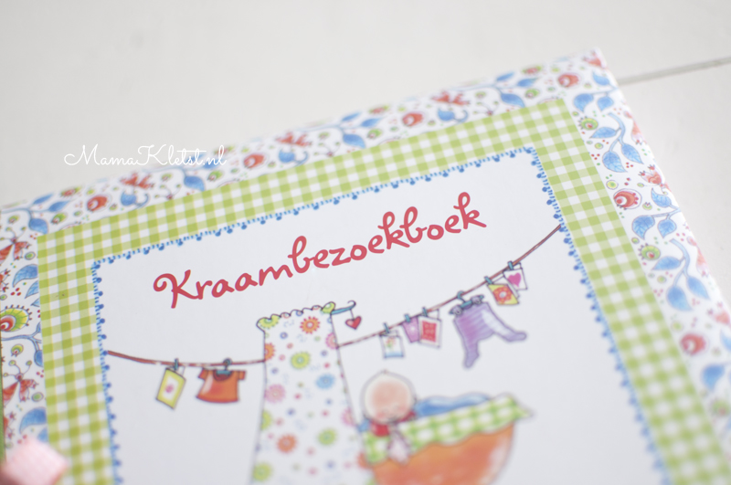 Kraambezoekboek Pauline Oud