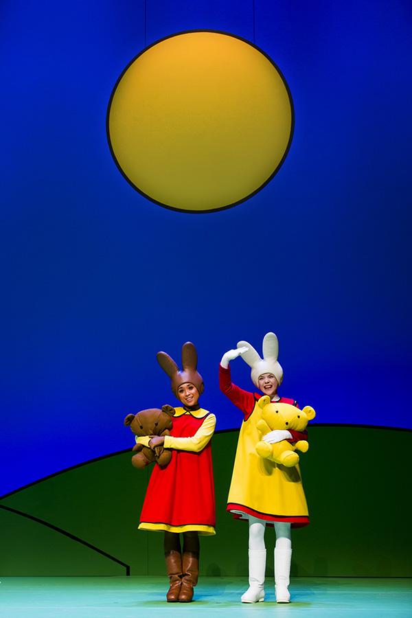 """Vlaardingen, 07-02-2015. Beeld uit de voorstelling """"Nijntje viert feest"""". Foto: Leo Van Velzen."""