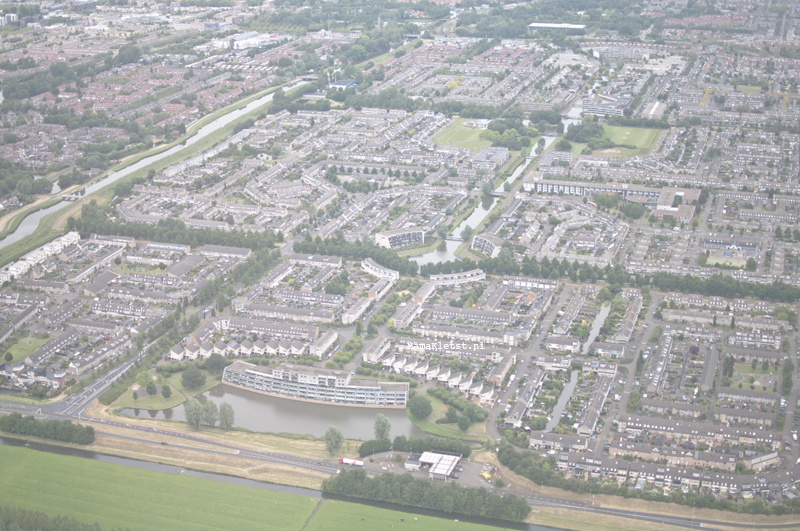 Purmerend-luchtfoto