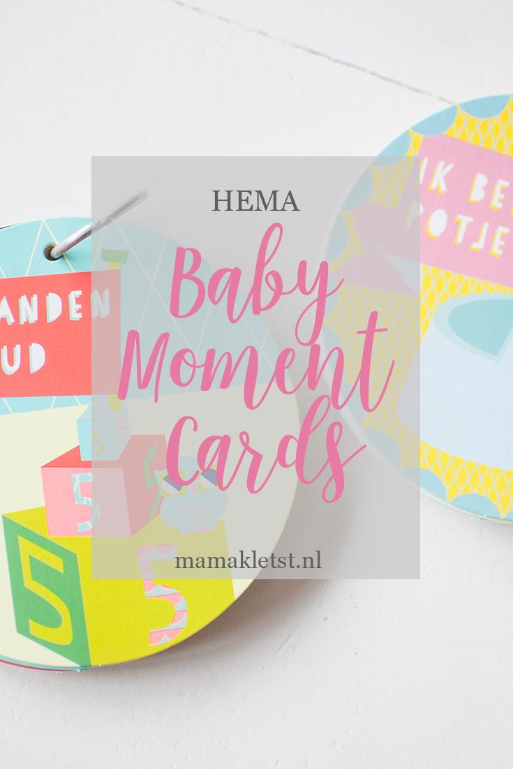 baby moment cards van Hema