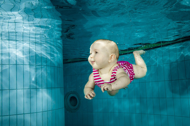 Overlevingszwemmen voor baby's