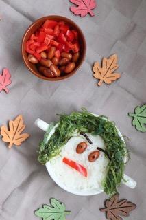 Halloween recept; deze boos heks is een ideaal gerecht om voor te schotelen met Halloween. Ideaal voor kinderen, want de groenten zijn verstopt!