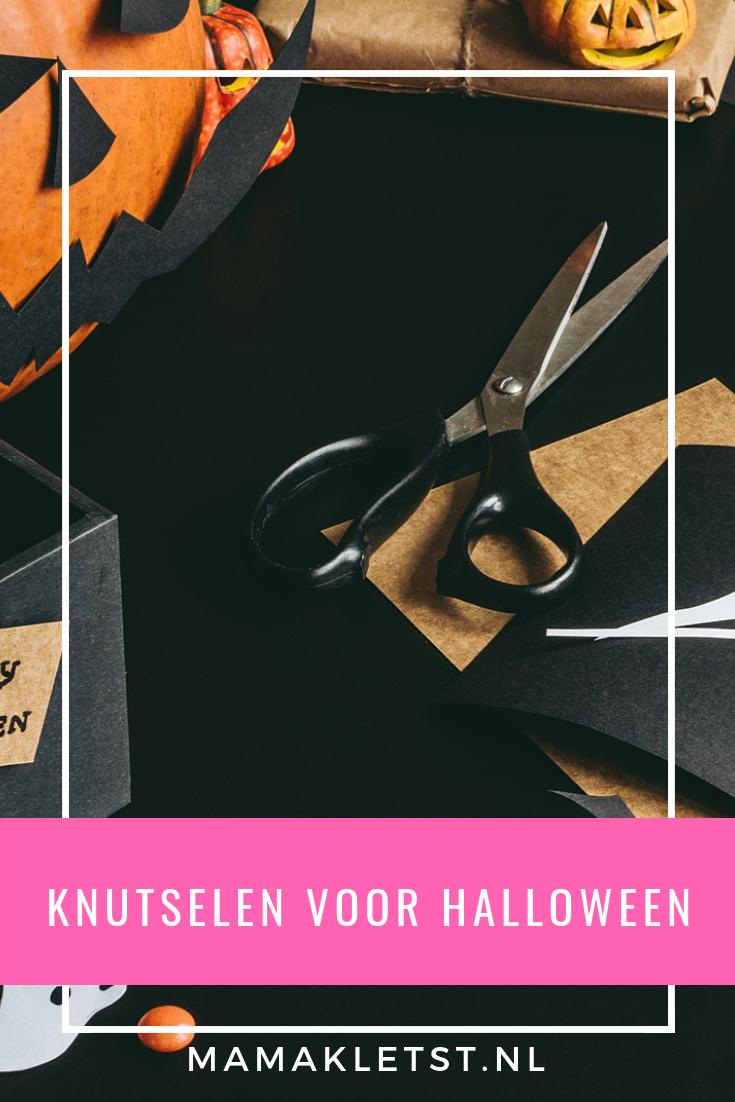 Halloween Spin Knutselen.Knutselen Voor Halloween Met Peuters En Kleuters
