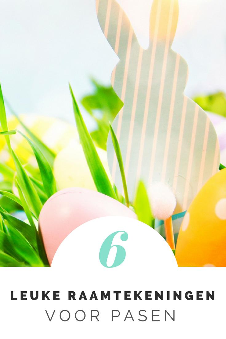 Met een leuke raamtekening voor Pasen kun je je huis op een eenvoudige manier helemaal in paas-style krijgen. En ben je de tekening zat? Dan was je het er gemakkelijk weer af. Wij hebben de 6x de leukste paas raamtekening voor je opgezocht.