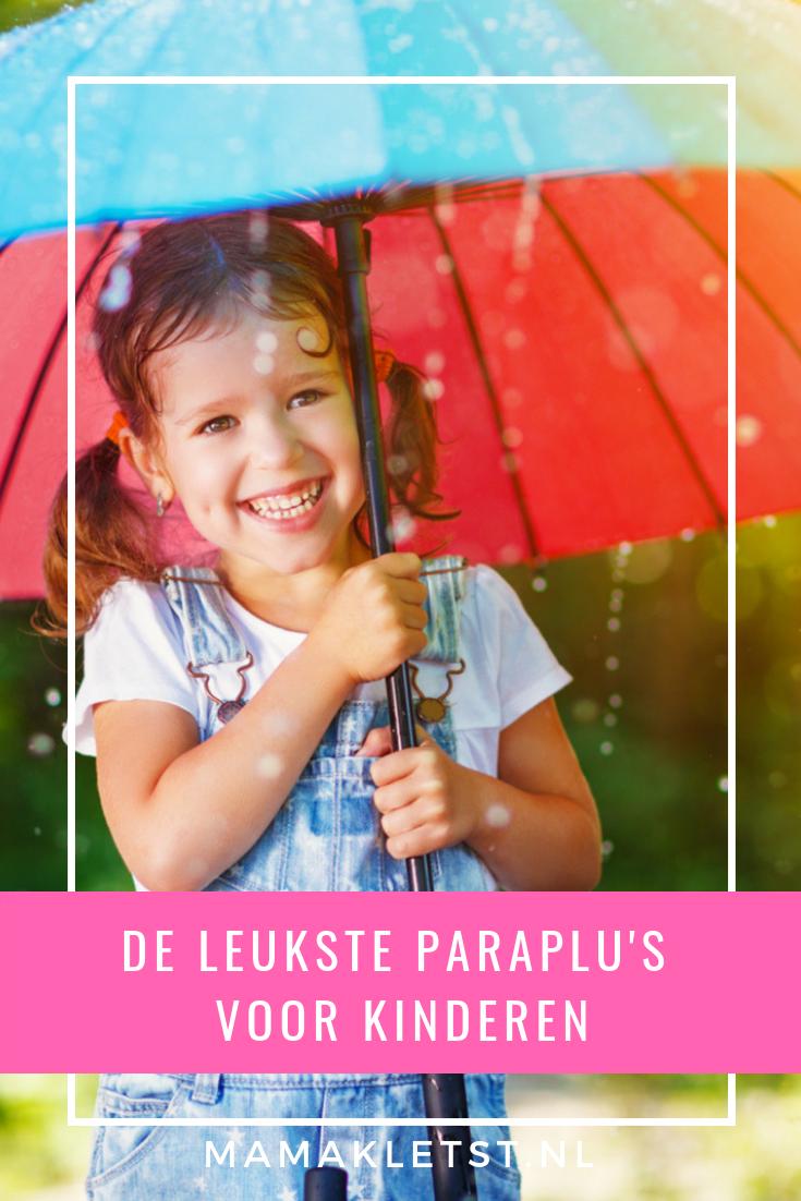 Op zoek naar een paraplu voor kinderen? Nu de herfst weer is begonnen is het geen overbodige luxe. Vind hier leuke en goedkope kinderparaplu's.