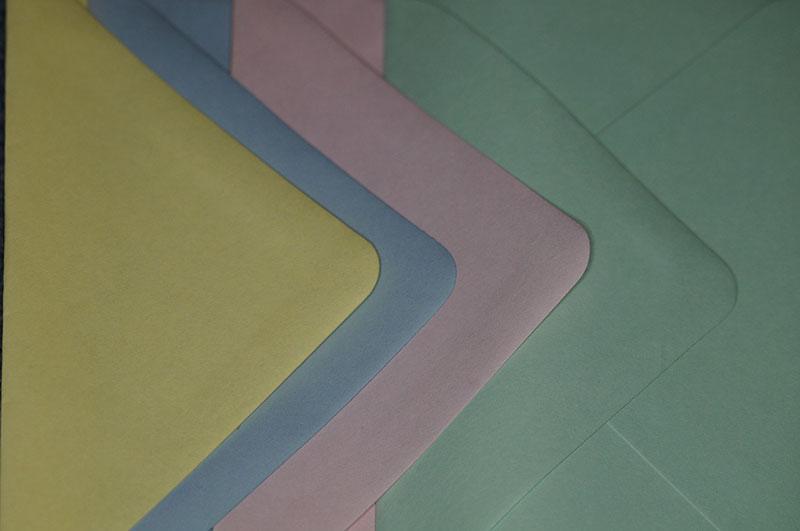 pastel-enveloppen