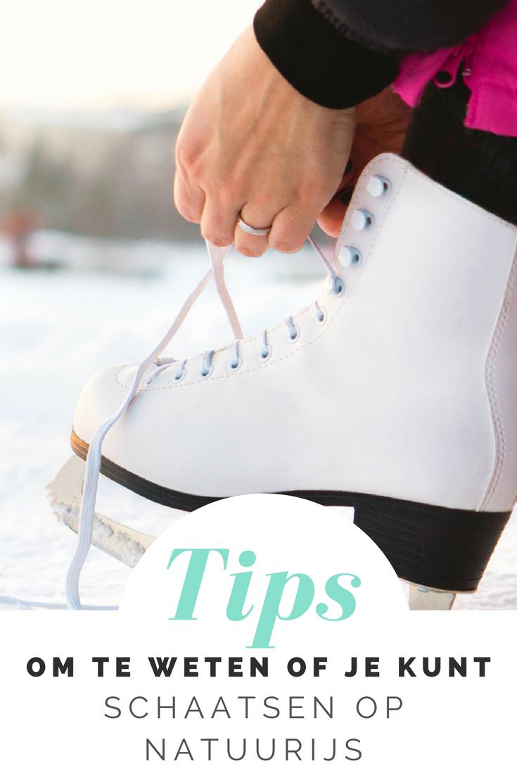 Vanaf wanneer kun je schaatsen op natuurijs? Ik zocht het voor je uit en geef je tips voor een veilige schaatstocht op een meertje in de buurt.
