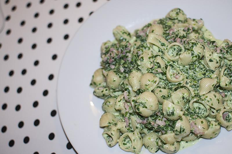 spinazie-pasta