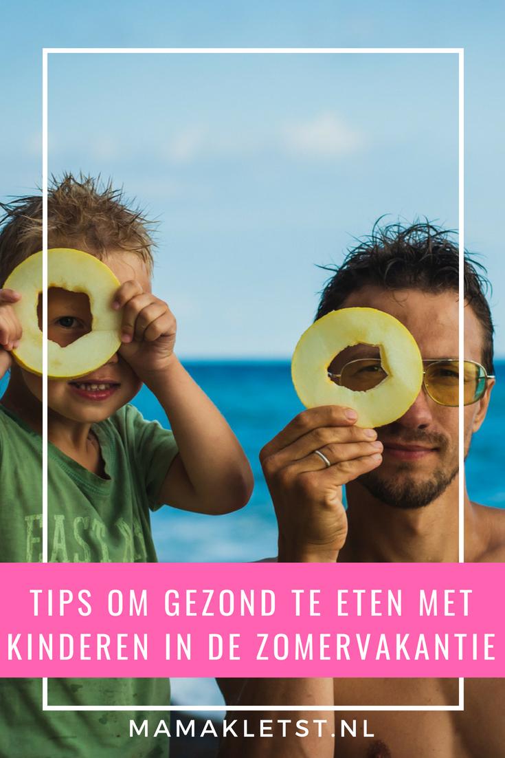 Gezond eten met kinderen tijdens de vakantie valt niet altijd mee, maar is voor de sfeer (en de kilo's) vaak wel beter om te doen. Met deze tips lukt het!