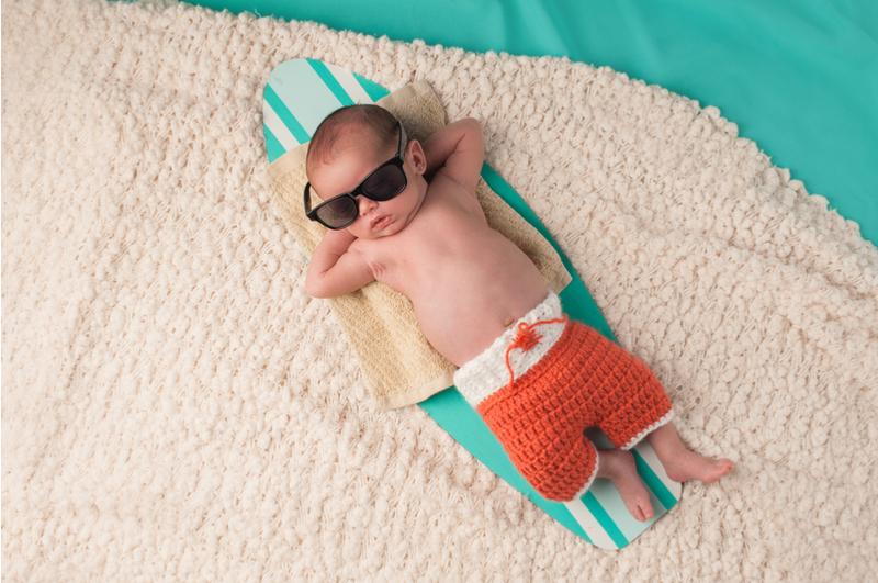 Stiekem mag je best in je handen wrijven met een zomerbaby, want er zijn namelijk een heleboel voordelen van het krijgen/hebben van een zomerkindje