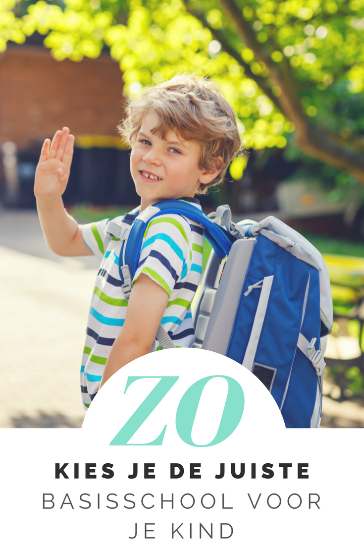 Hoe kies je de juiste basisschool voor je kind? Waar moet je op letten bij het uitkiezen van een school en wat is belangrijk? Zo kies je de juiste basisschool!
